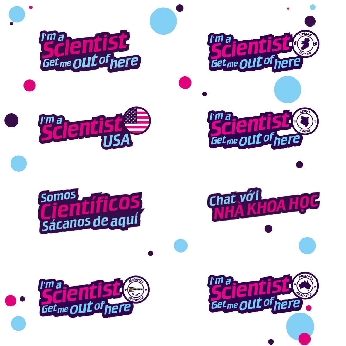 International I'm a Scientist Events